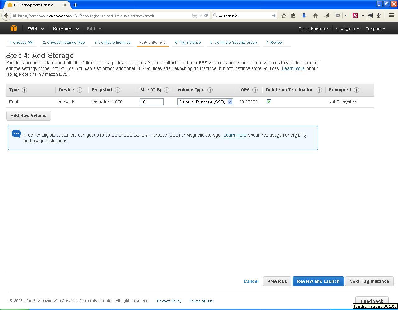 AWS EC2 Add Storage