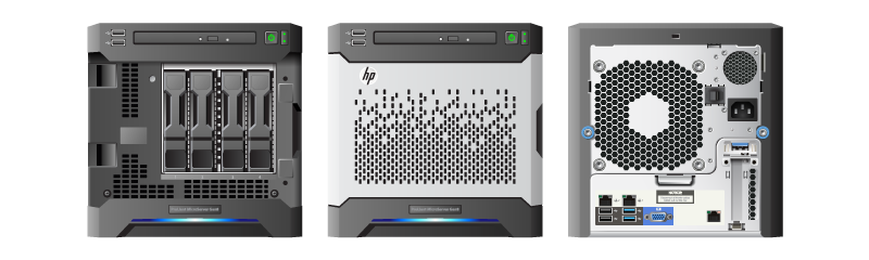 hp proliant microserver gen8 ahsay backup appliance. Black Bedroom Furniture Sets. Home Design Ideas