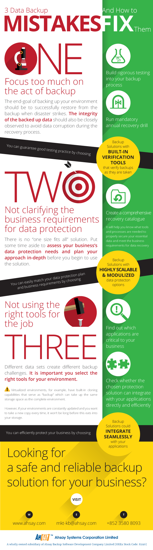 Infographic: 3 Data Backup Mistakes and How to Fix Them