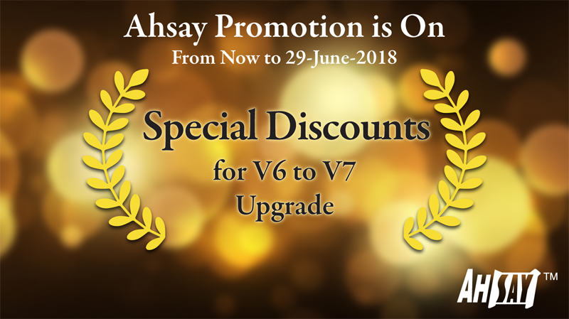 Ahsay Promotion Offer 1