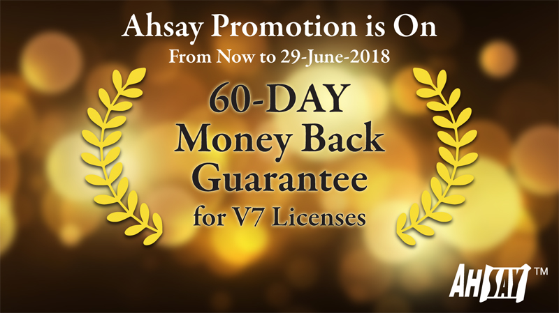 Ahsay Promotion Offer 2