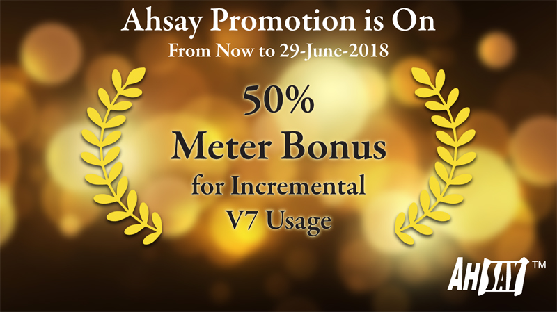 Ahsay Promotion Offer 3