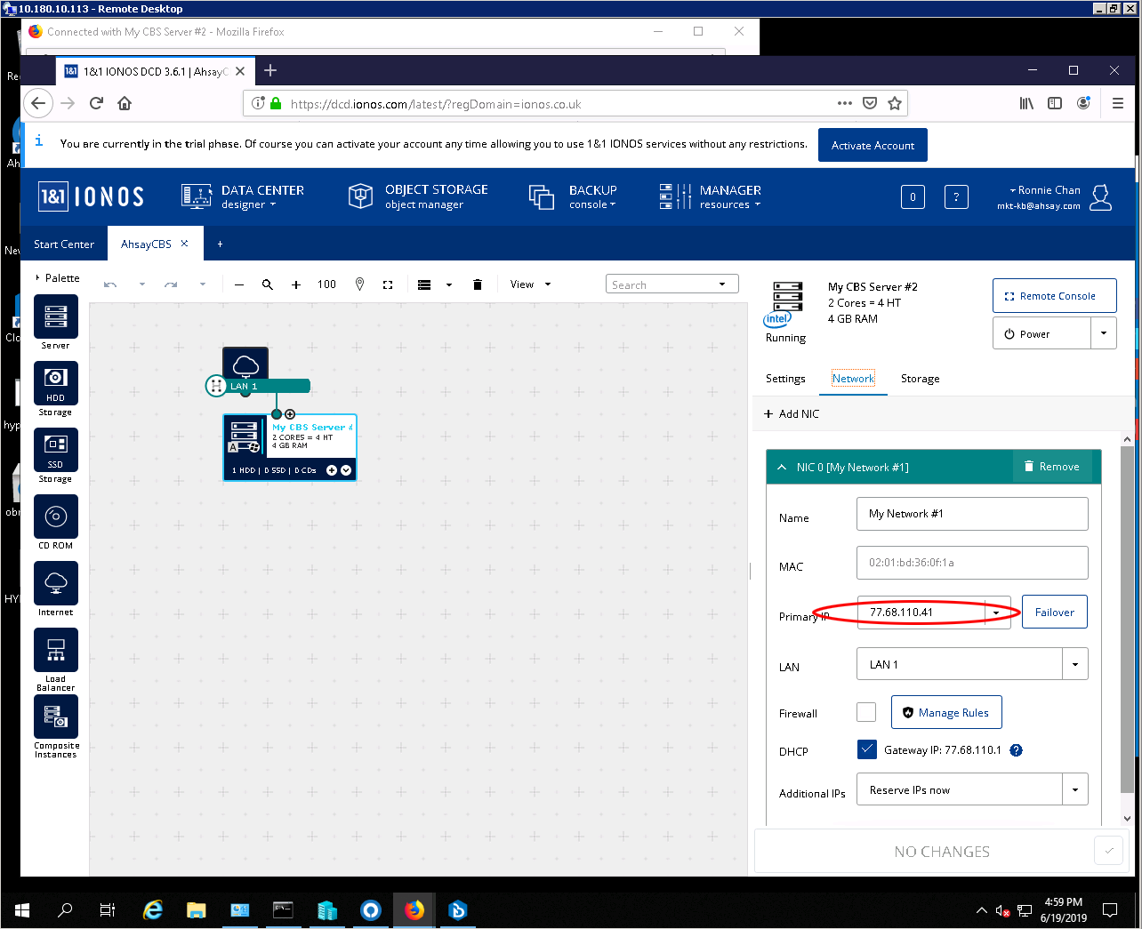 Synology Destination Folder Access Denied
