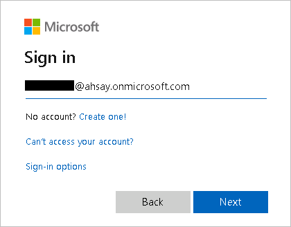 Ahsay v8.3.6 supports Office 365 Modern Authentication