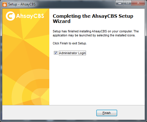 AhsayCBS 60 Days Free Trial - Ahsay Backup